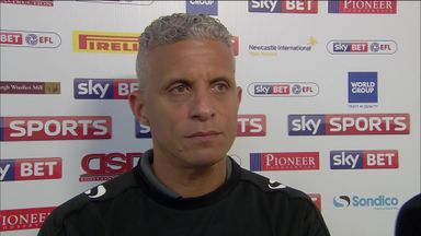 Curle delighted with character