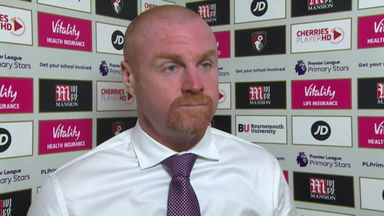 Dyche: Burnley a bit flat