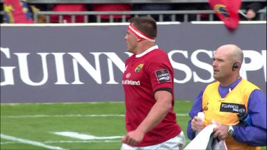 CJ Stander Player Mic v Ospreys.