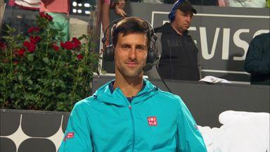 Djokovic reaches Rome final