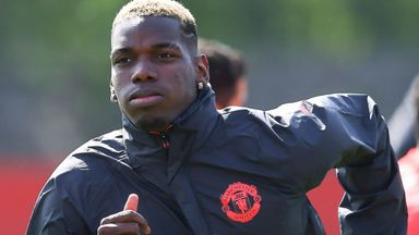 Pogba to start against Palace