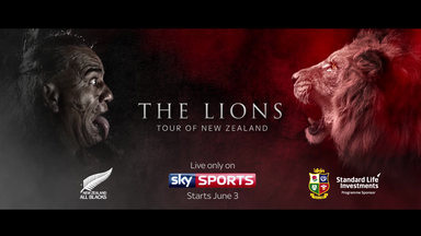British & Irish Lions promo