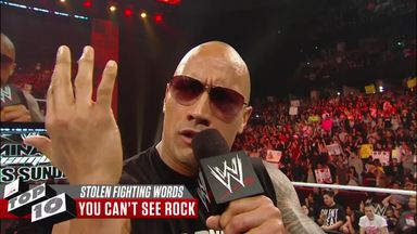 WWE Top 10: Stolen fighting words from rival Superstars