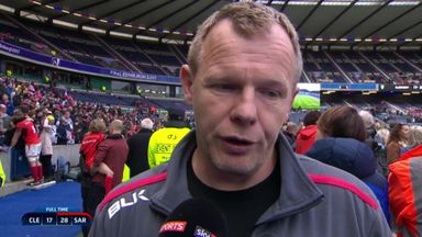 McCall: Incredible performance from Sarries