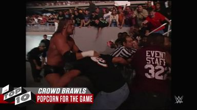 Top 10 Brawls in the crowd