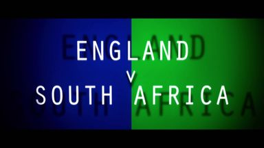 England v SA on Sky Sports