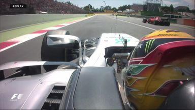 Spanish GP - Hamilton v Vettel