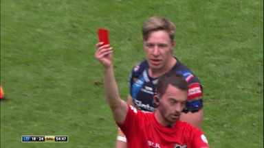 Higson sent off against Salford