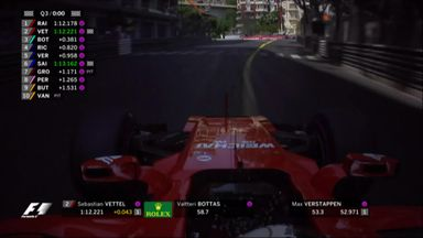 Kimi on pole in Monaco