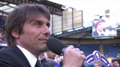 Conte thanks fans