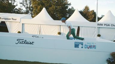 Golf Parkour at Wentworth!