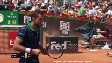 Isner v Cilic: Highlights
