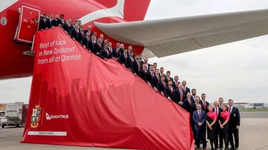 Lions leave for New Zealand
