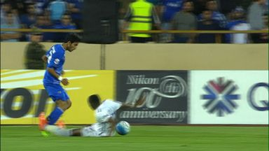 Horror tackle in Asian Champions League
