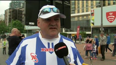 Huddersfield fan's marathon effort