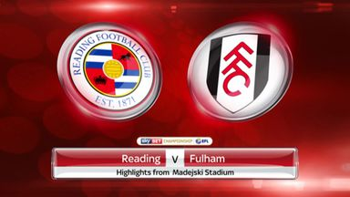 Reading 1-0 Fulham (agg: 2-1)