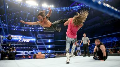 Styles & Nakamura claim victory