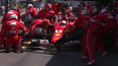 How Vettel beat Kimi