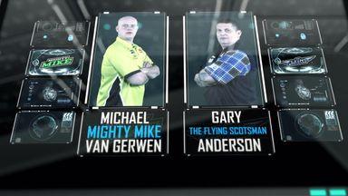 PLD Semi-Final - Van Gerwen v Anderson