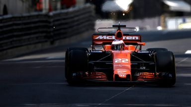 Monaco GP: Thursday Practice
