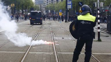 Feyenoord fans riot