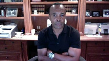 Sugar Ray Leonard says Errol Spence Jr is 'the real deal'