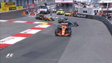 Jenson overtakes Lewis!