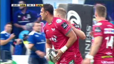 Leinster 15-27 Scarlets