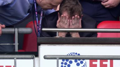 The most emotional man at Wembley!