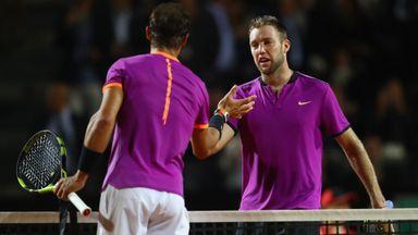 Nadal v Sock: Highlights