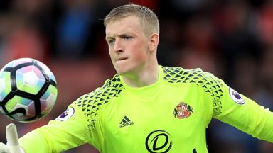 Moyes: Pickford won't be leaving