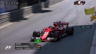 Vettel wins in Monaco