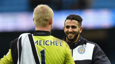 City relaxed over Mahrez & Schmeichel