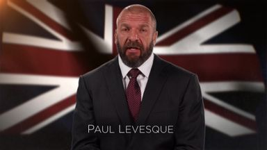 Triple H's tribute to Manchester victims
