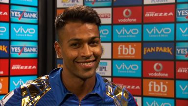 Pandya: It's a wonderful feeling