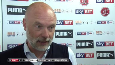 Rosler: Bradford were the better side