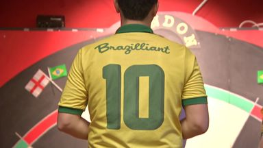 Brazil prepare for Darts WC debut