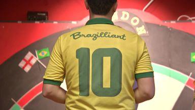 Brazil prepare for Darts World Cup debut