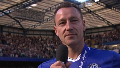 Terry says goodbye