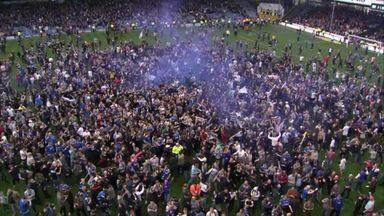 Pompey celebrate