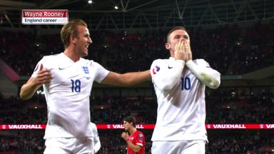 Rooney dropped by England