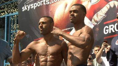 Brook v Spence - Weigh-in