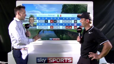 Molinari shares BMW PGA lead