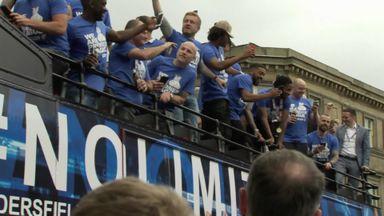 Huddersfield's promotion parade