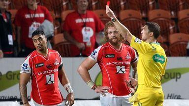 Taulagi given five-week ban