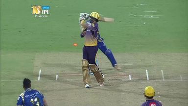 IPL: Mumbai v KKR highlights