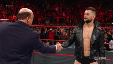 Heyman wants Balor victory