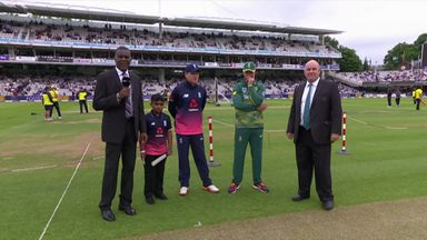 England v South Africa 3rd ODI: The Toss