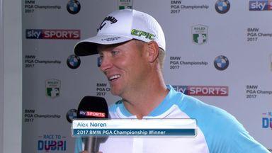 Noren savours BMW PGA win
