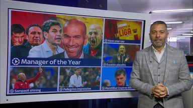 La Liga manager of the year